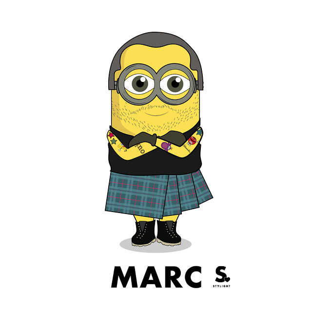 Minions Stylight Minionistas Marc Jacobs