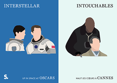 Interstellar vs Intouchables