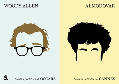 woody Allen vs Almodovar