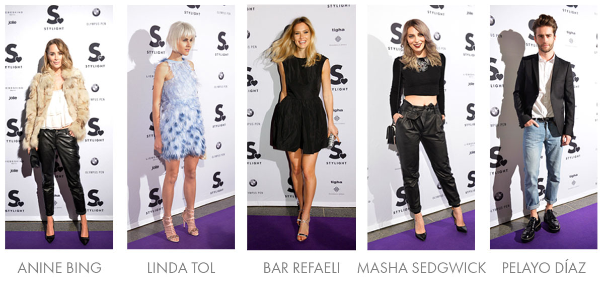 STYLIGHT Influencer Awards - Purple Carpet Gäster